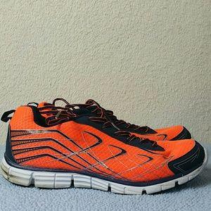 Sketchers mens orange shoes size 11
